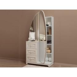 Белла Шкаф комбинированный (зеркало)