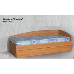 """Кровать """"Сандра 2"""" с ящиками  без матраца"""