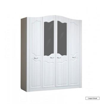 Ева 10 Шкаф 4х створчатый для платья и белья