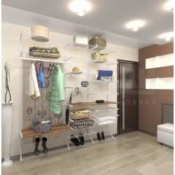 """Система хранения для гардеробных и шкафов-купе """"HOME SPACE"""""""