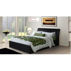 Кровать мягкая из Экокожи Монако