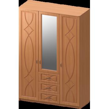 Шкаф 3 створчатый без зеркала